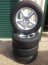 "BMW X5 E53 17"" rims and tyres Palmwoods Maroochydore Area Preview"