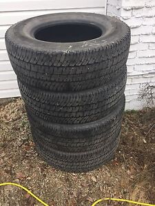 274/70r18 Michelin all seasons