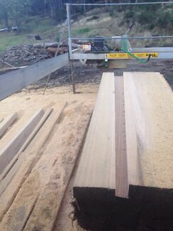 Hardwood sleepers, battens, studs, boards, posts etc. Franklin Huon Valley Preview