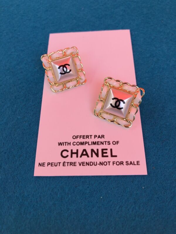 Chanel Vip Promo Earrings