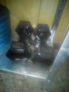 Wanted: Weight gym intermediate set
