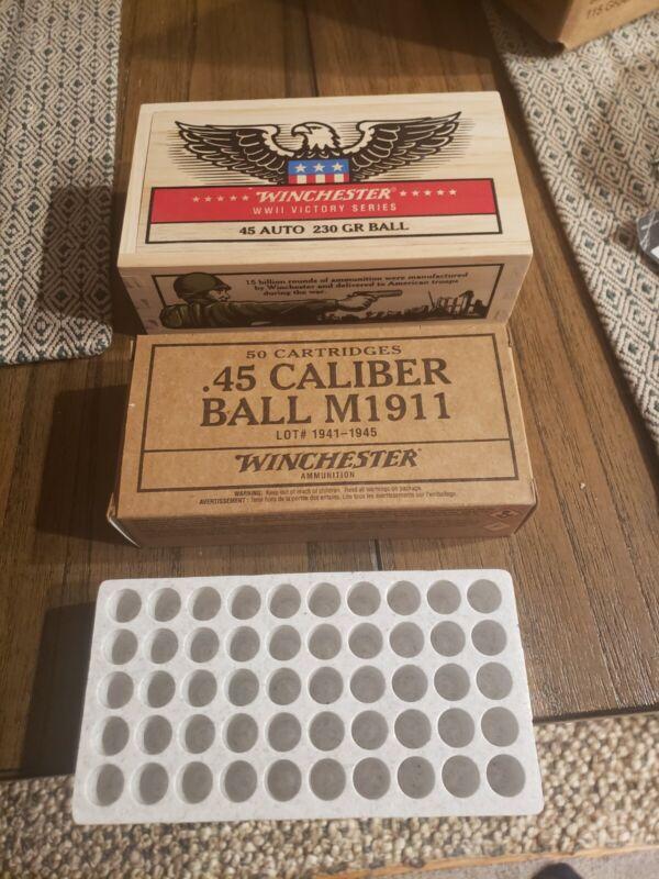 Winchester Wooden Ammo & Storage Box