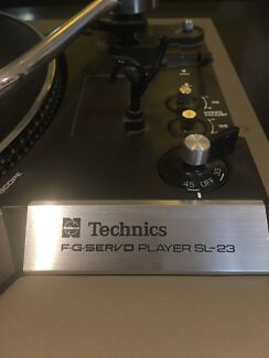 Wanted: Technics F.G. Servo Player SL-23