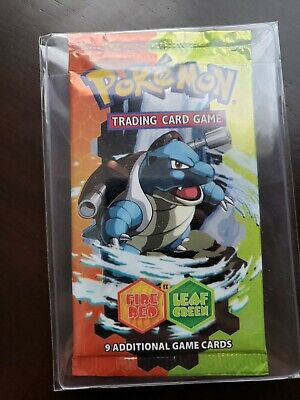 Pokemon EX Fire Red Leaf Green EX Booster Pack New Sealed Unopened Unweighed