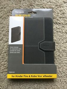 Slim folio for Kindle Fire or Kobo Vox eReader