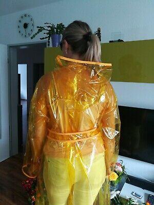 PVC Regenmantel Regen Mantel Gr L XXL