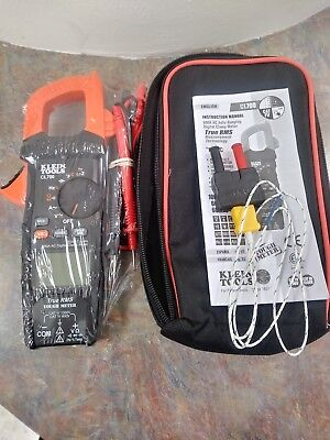Klein Tools 600a Ac Digital Clamp Tough Meter True Rms Model Cl700