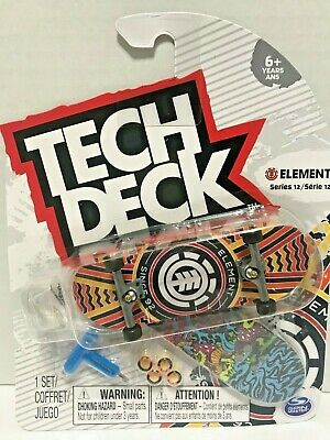 Tech Deck Element Skateboards Series 12  w/ grip tape