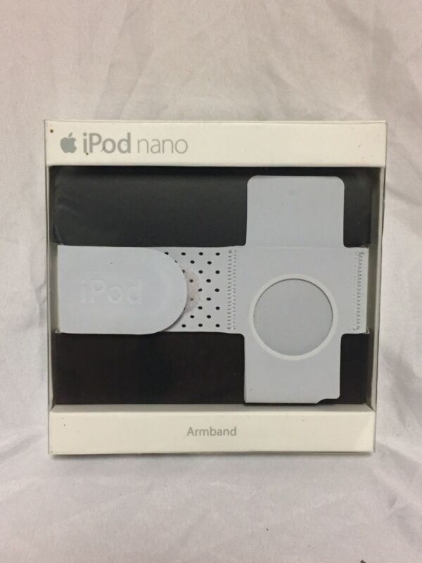NEW White Apple Armband Case for iPod Nano In Retail Packaging MA663G/A Gray