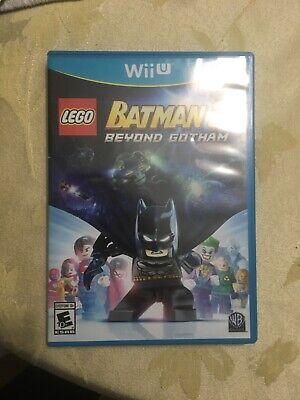 LEGO Batman 3: Beyond Gotham (Nintendo Wii U, 2014)
