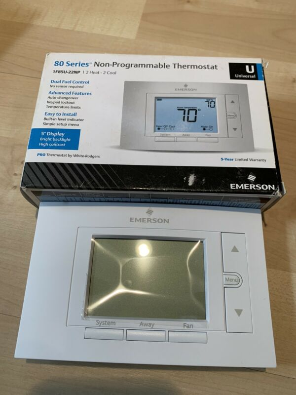 Emerson 80 Series Digital Non-Programmable Thermostat