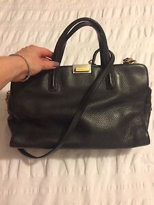 Marc Jacobs cross body leather satchel