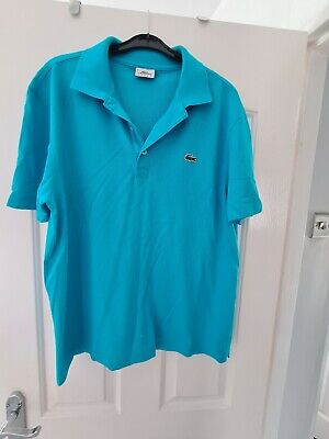 Lacoste polo shirt size 5