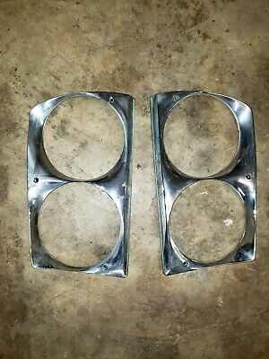 Used, Vintage Car Headlight bezels  for sale  Shipping to South Africa