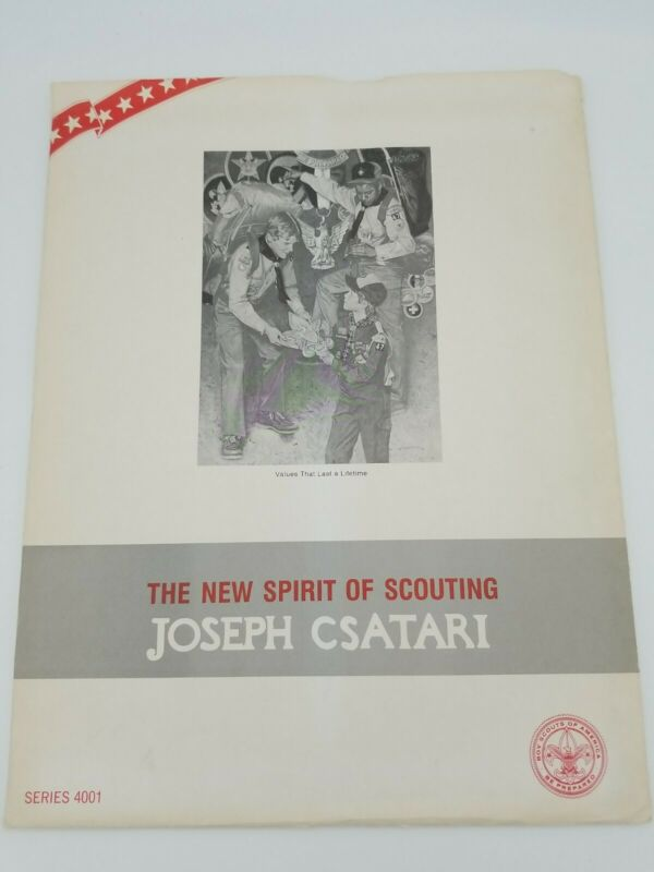 The New Spirit of Scouting by Joseph Csatari 10 Prints Boy Scouts Series 4001