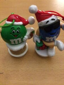 M & ms Christmas ornaments- best offer