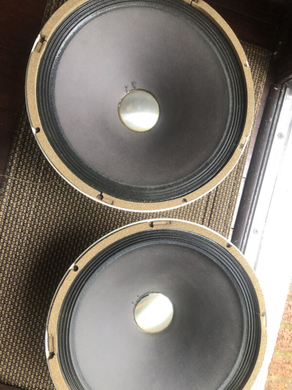 "Pair Altec 422-8z Woofer Alnico 15"" Woofer"