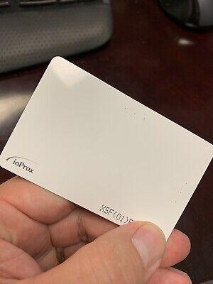 Kantech P20dye Ioprox Xsf26 Bit Identification Proximity Card Qty 34 New