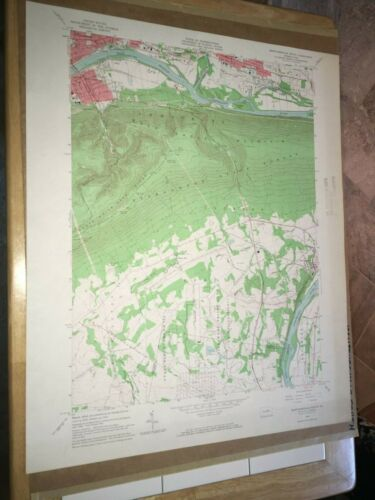 Montoursville PA Lycoming Co. Old USGS Topographical Geological Quadrangle Map