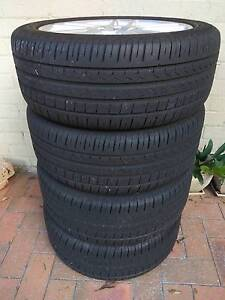 """Pirelli Tyres (205/50R17) with 17"""" Alloy Rims Crows Nest North Sydney Area Preview"""
