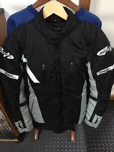 "Ladies ""Joe Rocket"" Motorcycle riding gear. Jacket and pants"