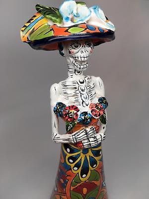 Talavera Catrina Day Of The Dead Lisa Frida 12