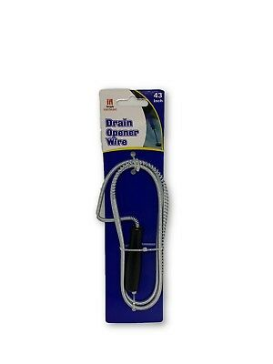 Handheld Drain Snake Cleaner Unclog Water Pipeline Plumbing Snake Dredge Wire