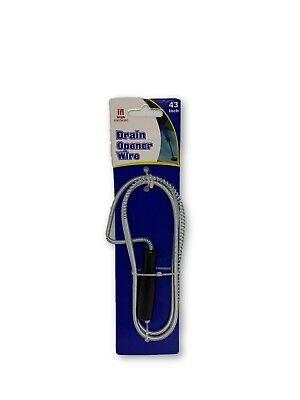 Handheld Drain Snake Cleaner Unclog Water Pipeline Plumbing Snake Dredge Wire