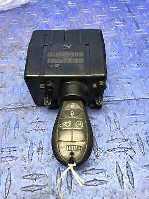2010 DODGE CHALLENGER WIRELESS IGNITION RECEIVER SWITCH W/ KEY AND PUSH START