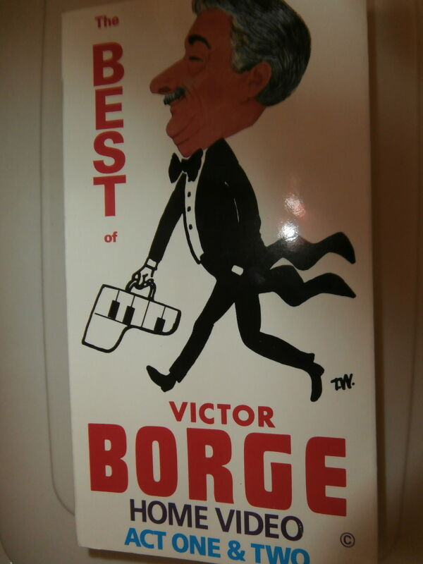 """The Best of Victor Borge Act One and Two"" no ISBN VHS"