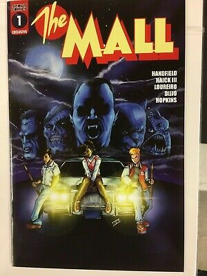 THE MALL #1 MONSTER SQUAD COVER BY BRYAN SILVERBAX EPIKOS VARIANT SCOTT (Scott Mall)