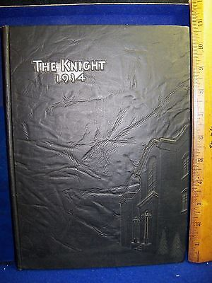 For sale Vintage 1934 COLLINGSWOOD High School Yearbook New Jersey NJ The KNIGHT