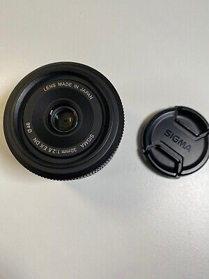 SIGMA 30mm F2.8 EX DN AF Lens for Sony E mount