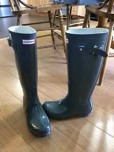 Hunter Original Gloss - size 6 womens