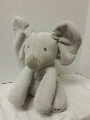 GUND Baby Animated/Musical Flappy The Elephant Plush Toy - 4053934