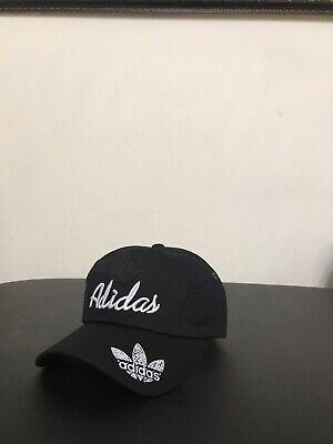 Brand New Adidas Baseball Black Hat, Adjustable Back