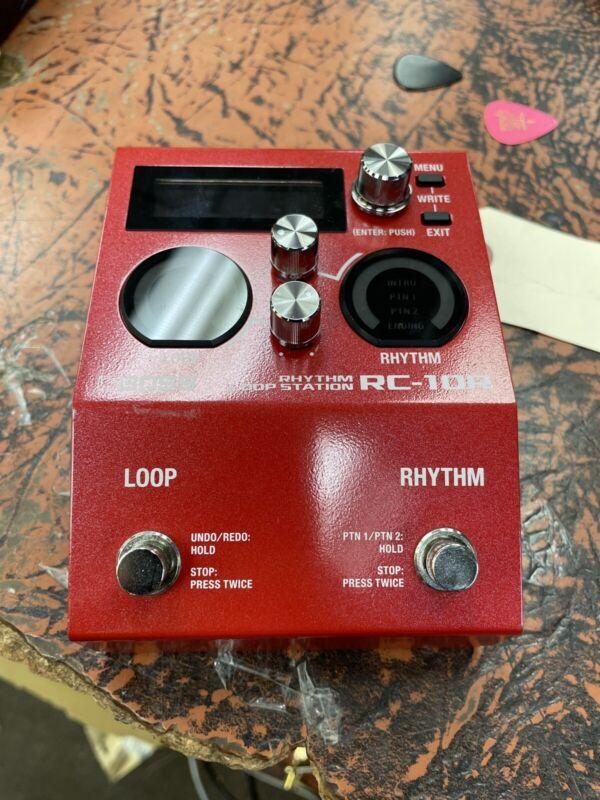 BOSS Rhythm Loop Station Looper RC-10R Red guitar Audio equipment LIVE