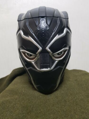 RARE 2018 Marvel Black Panther Korea PROMO Head Figure Model Doll Movie