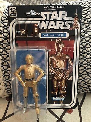 Star Wars 40th Anniversary Black Series 6 Inch - C-3PO
