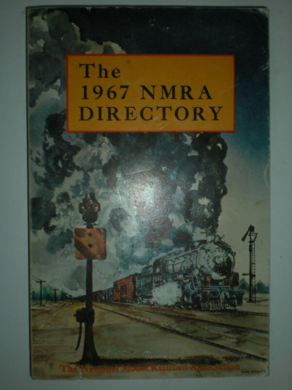 1967 vtg The NMRA Directory Model Train book with Ads including Tyco