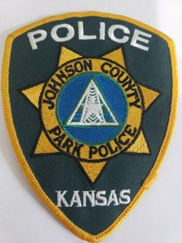Johnson County Park Police Kansas shoulder patch