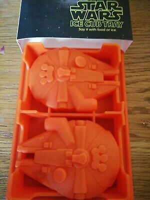 Star Wars Silicone Mold Millenium Falcon Ice Tray / Chocolate - Han Solo