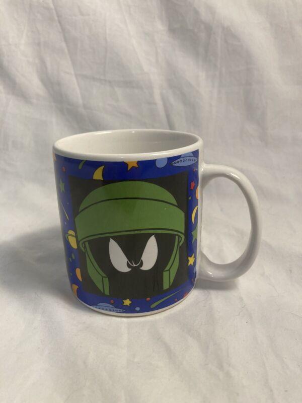 Vintage 1994 Marvin The Martian Coffee Mug - Looney Tunes
