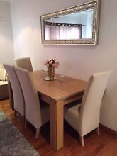 ELEGANT SOLID AND HEAVY DINING SUITE NEAR NEW COND Auburn Auburn Area Preview