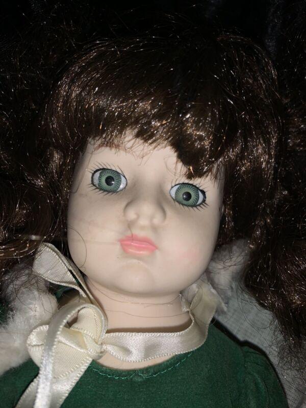 Haunted Vintage Porcelain Doll CHRISTINE Possessed BUYER BEWARE ACTIVE Evil A3