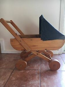 Vintage Wooden Pram (for dolls) Tranmere Clarence Area Preview