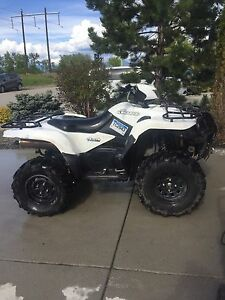 2009 Suzuki 750 AXI, king quad, 4x4