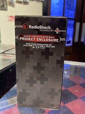 Radioshack Project Enclosure Box 6x3x2 270-1805