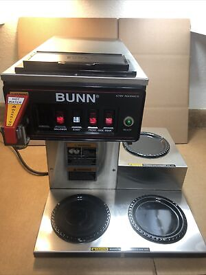 2101 Bunn Cwtf15 Cw 3l Pf 3 Burner Commercial Coffee Maker Machine Industrial
