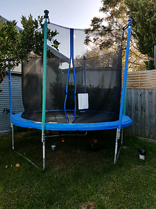 Trampoline with Enclosure for kids 10ft Geelong Geelong City Preview